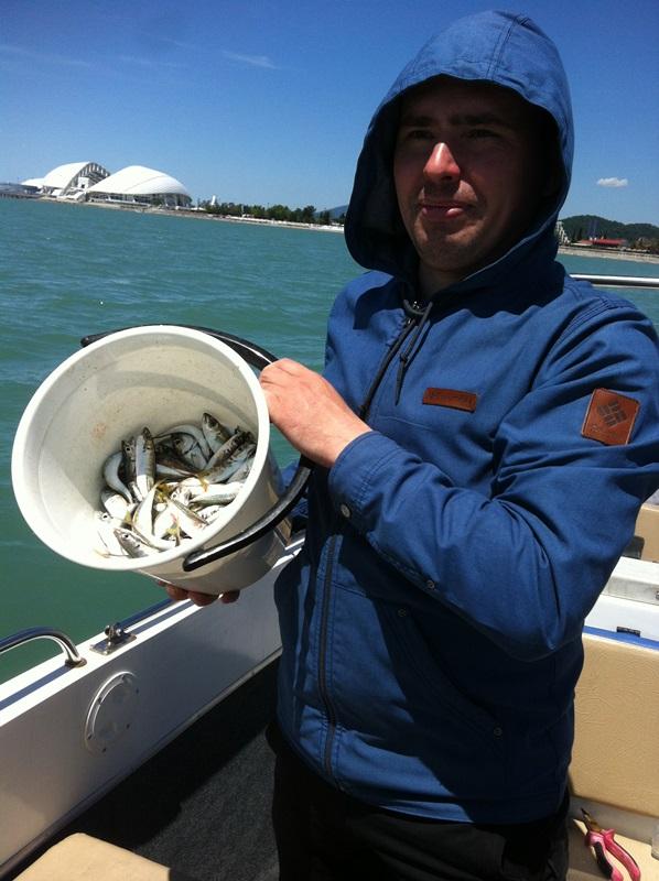 Майская рыбалка в Адлере