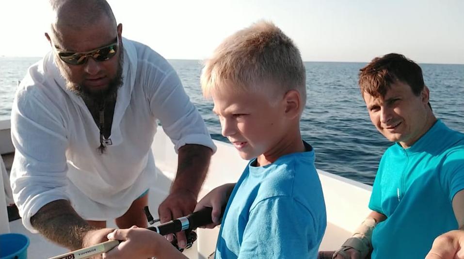 Небольшой инструктаж перед рыбалкой.