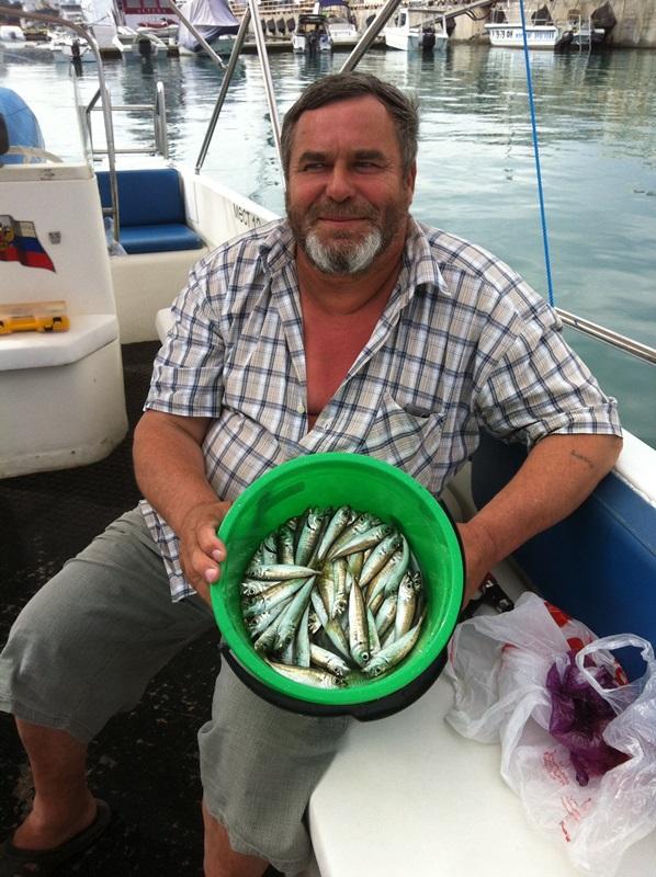 После рыбалки в Адлере