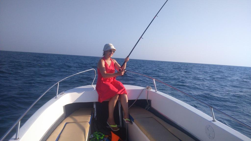 У нас все хотят рыбачить.
