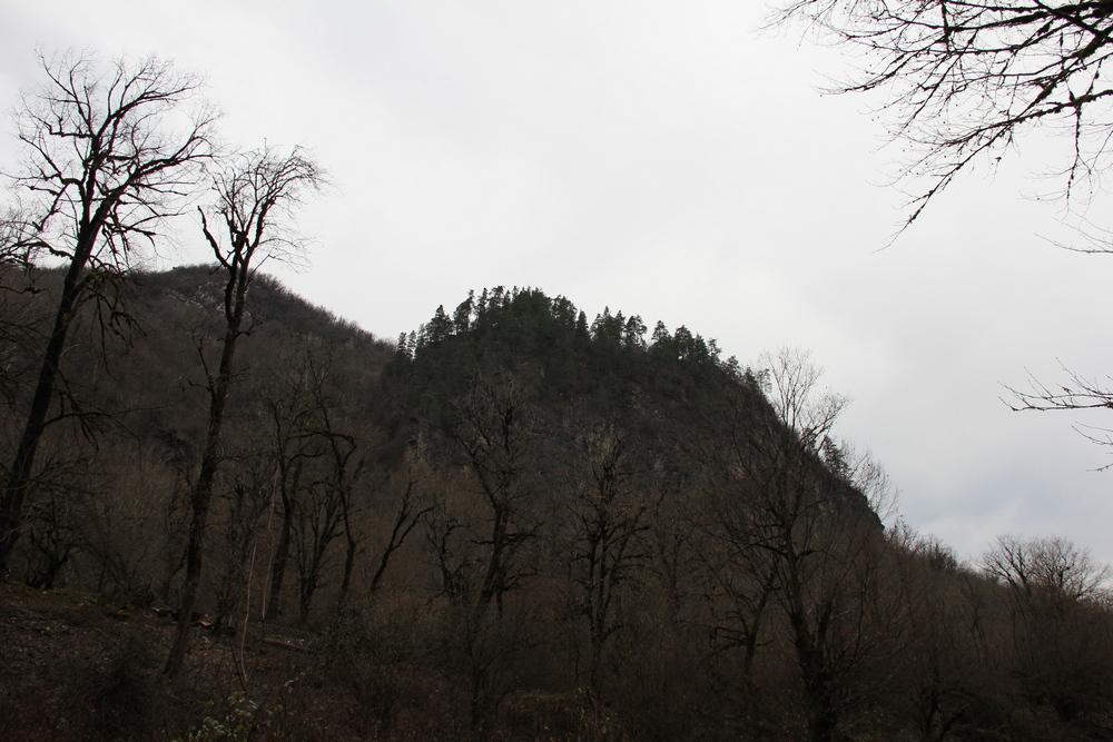 Скальники хребта Ачибах.